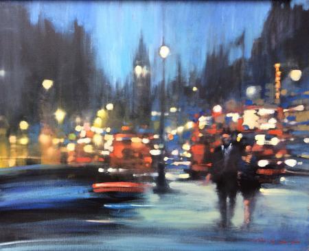 London-Night.-Oil-on-canvas-61x76cm