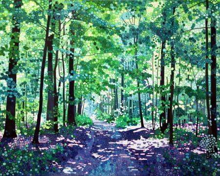 Sparkling-Woods_80x100cm_£3950_framed