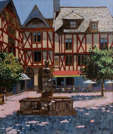Shaded Square, Brottany