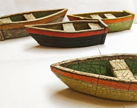 Raku boats