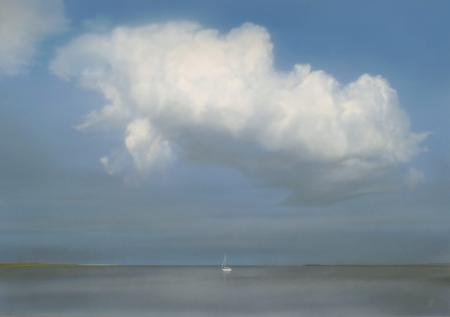 Boat with cloud