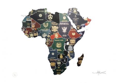 Passport map Africa_Coldwar 1960's