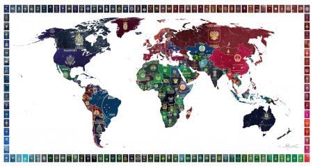World Passpor Map