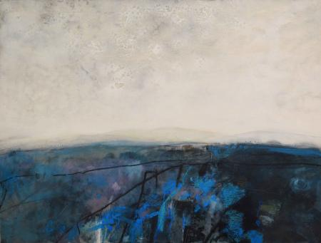 Cleave Tor 90x120cm oil on board Gall P £4000