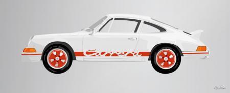 Porsche_911_Carrera_RS_1400mm_570mm_RED_ARTWORK