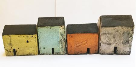 set of 4 houses 0717
