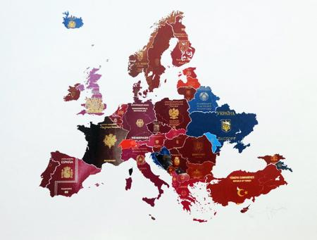 Store Street Gallery_Yanko Tihov-Passport Map Europe