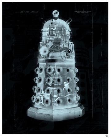 Exterminate Dalek X Ray