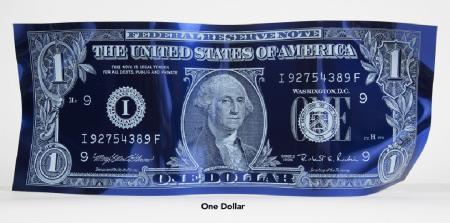 Dollar Bill Blue