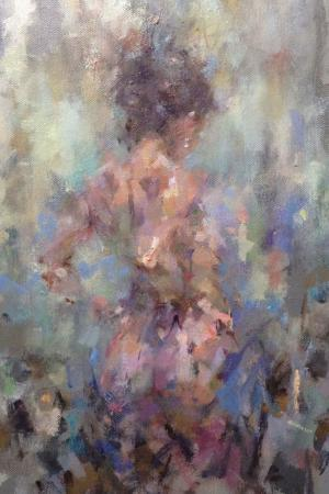 marelise abstract woman oil painting
